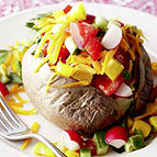 Vegetarian weight watchers spud